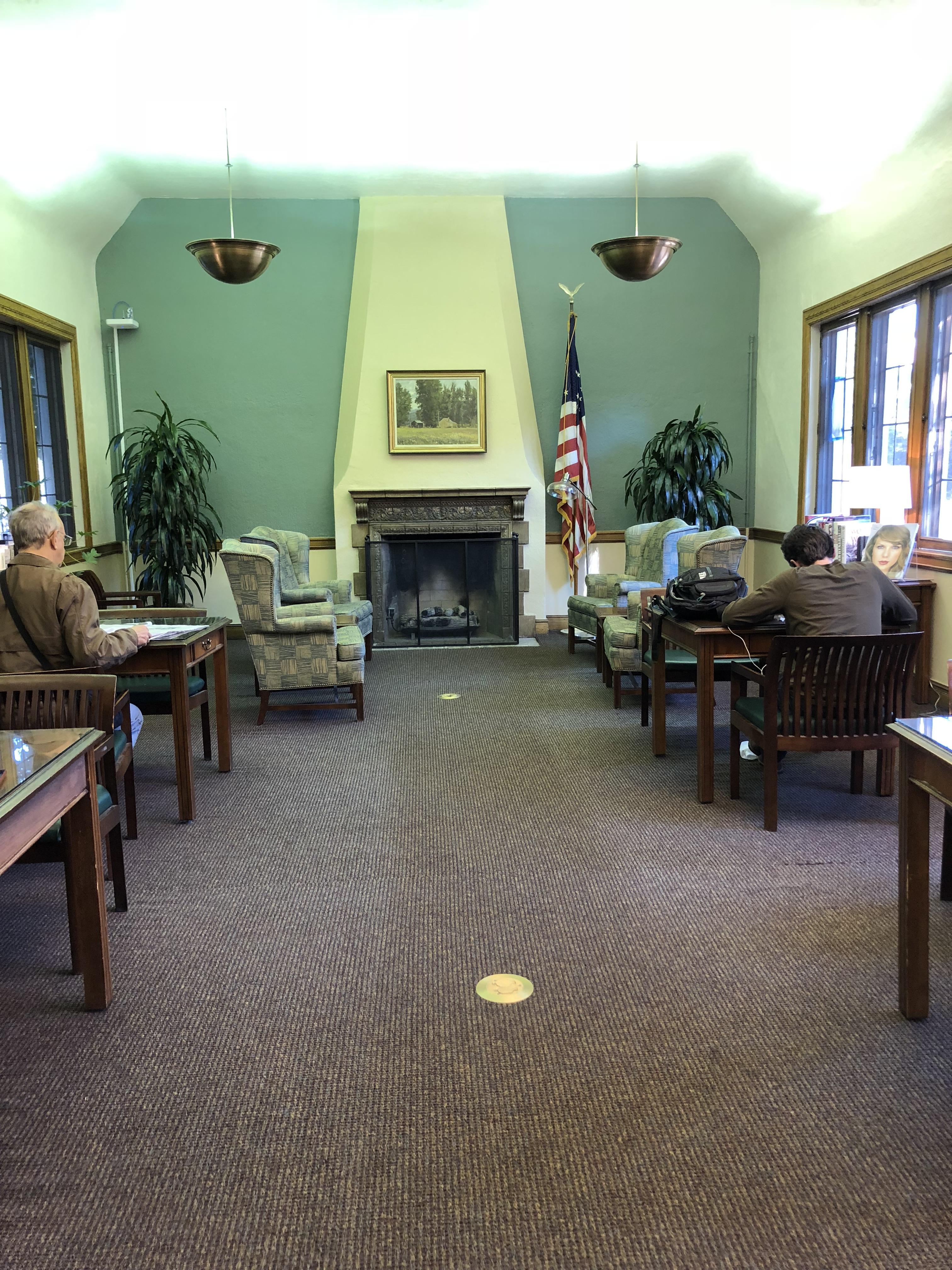 sprague library reading room